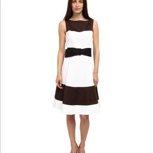 Kate spade color block fit and flare dress