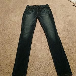 Express size 4 mid-rise jean legging