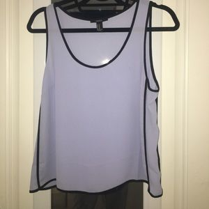 Perfect periwinkle sleeveless blouse