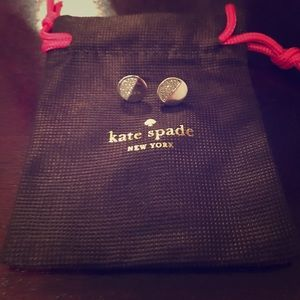 Kate Spade silver stud earrings