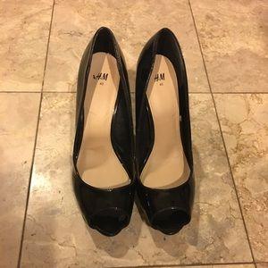 H&M open-toed heels