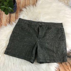 Eddie Bauer gray camp shorts