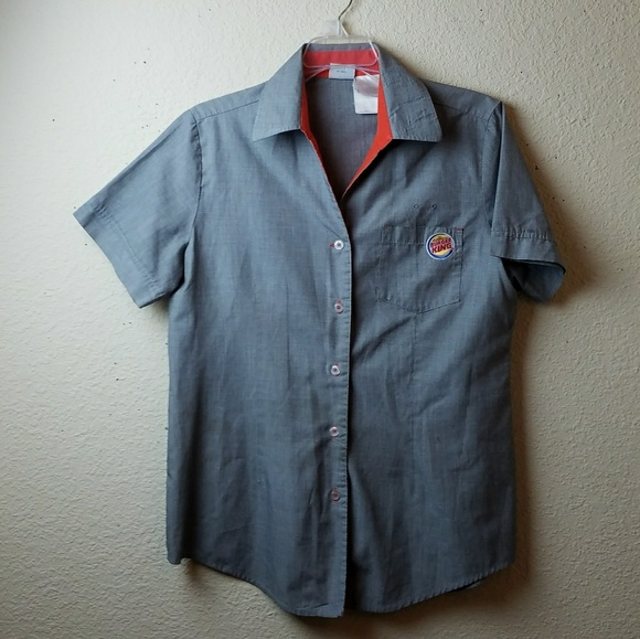 0ab915d2cafb3 Burger King Tops - Burger King Uniform Shirt