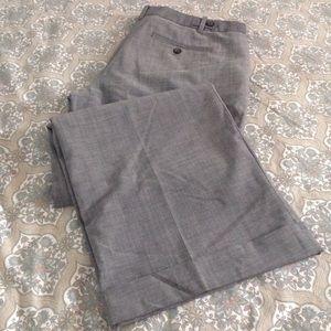 EUC Gap gray wide leg trousers
