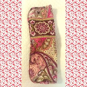 Vera Bradley Straight Iron Case, discontinued