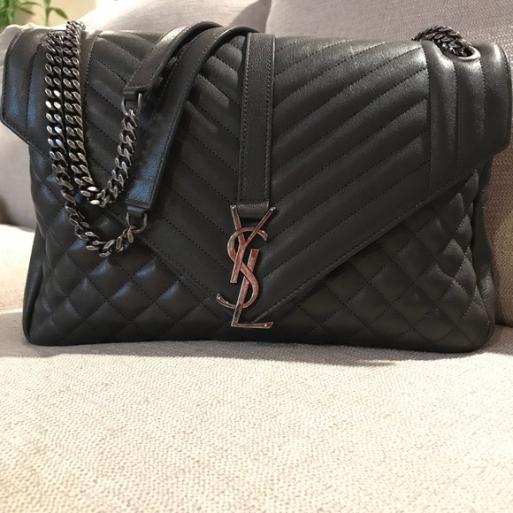 17441d61bb2f Classic Large College Monogram Bag. M 59e56eec2de512f467025b1a. Other Bags  you may like. Yves Saint Laurent bag (brand new)
