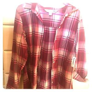 Shades of Pink flannel
