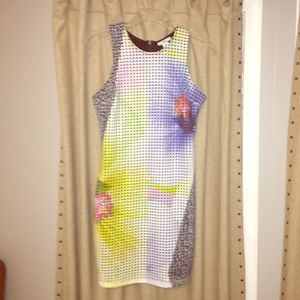 Bar III MULTICOLOR Bodycon dress