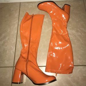 🎃 Orange Boots 🎃