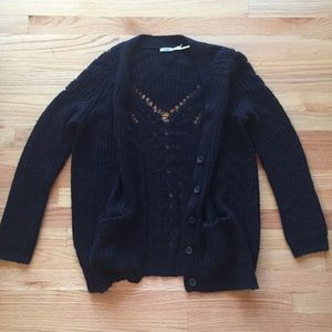 Urban outfitters Kimchi blue black cardigan