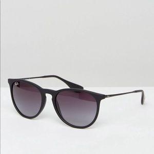Ray-Ban Erika Sunglasses Black Unisex