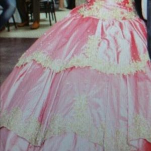Quinceañera Dress Hand Made by a profesional