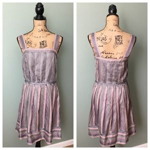 Marc by Marc Jacobs size 6 gray pink dress!