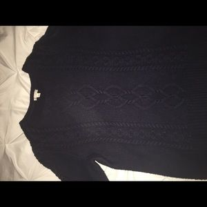 Navy Blue Gap Sweater