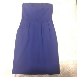 Royal blue express dress