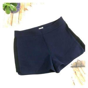 J. Crew navy blue dress shorts