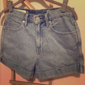 GAP Original High-Rise Denim Short