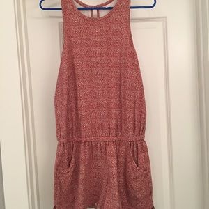 Old Navy cotton romper size M