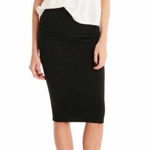 Leith stretch pencil skirt skirt