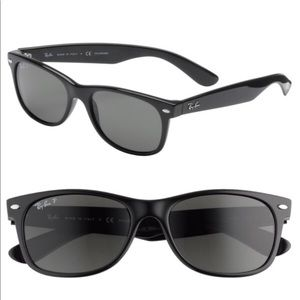 New Wayfarer 55mm Polarized Sunglasses