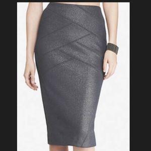 Crop top & pencil skirt
