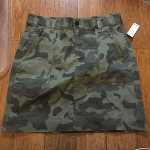 Old Navy NWT Military Green Camo Skirt 4
