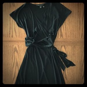 Black Banana Republic Wrap Dress, XS