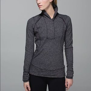 Lululemon Think Fast Half Zip Pullover!
