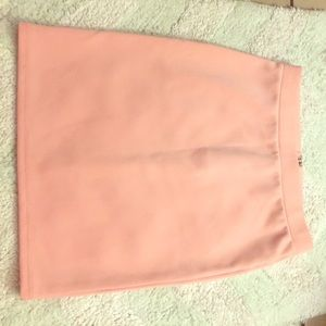 Pale pink body con skirt