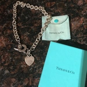 Tiffany & Co Heart Toggle Necklace