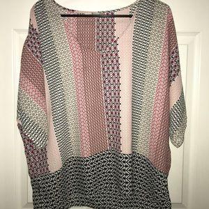 M patterned Blouse