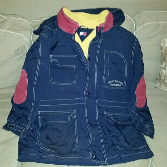 2bccc1b0f Tommy Hilfiger Jackets & Coats | Kids Vintage Thf Jacket | Poshmark