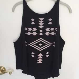 Wildfox Tribal Print Tank