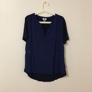 Old Navy Blue Blouse