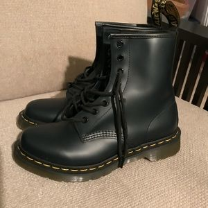 Doc Martens Boots. Navy blue US size 8