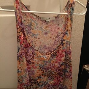 Cute Forever 21 Floral tank
