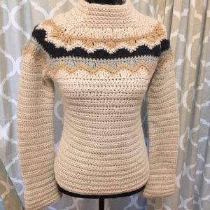 JCrew Hand Knit Sweater