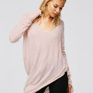 Free People Sweet Destiny Asymmetrical Sweater