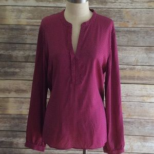 Tommy Hilfiger Long Sleeved Blouse (Size XL)