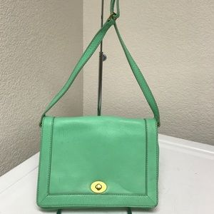 J.Crew Crossbody mint green bag