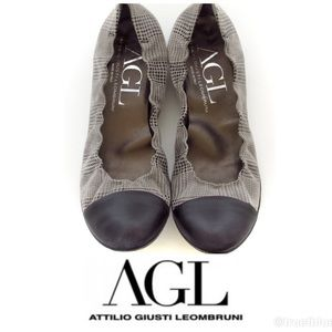 🆕 AGL Luxury Leather Loafers Sz 9.5