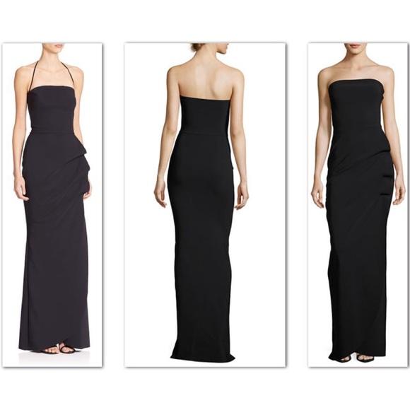 Chiara Boni La Petite Robe Dresses | Black Floor Length Gown | Poshmark