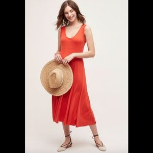 Anthropologie Maeve Women's Flare Abroad Dress