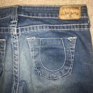light denim wash true religion jeans