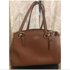 Brown Coach Handbag👜 Used, Authentic. Med sized.