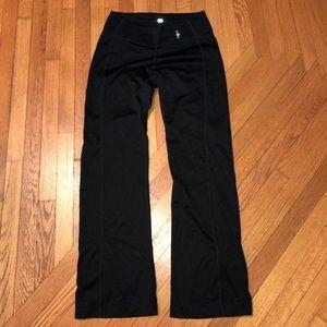 Smartwool black casual wool blend pants XS