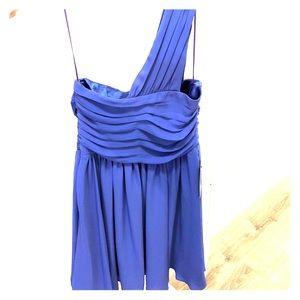 EXPRESS | One shoulder dress. BNWT.