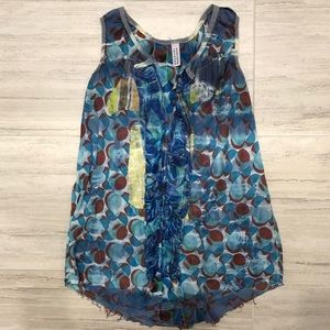 Anthropologie Gregory Parker Top Small Sleeveless