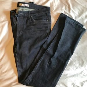 J Brand Cigarette Leg Dark Denim EUC