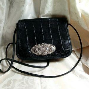 Black cross body purse Brighton look